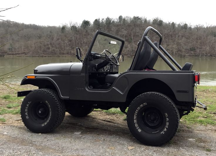 1981 Jeep CJ5 that was originally my father's. After 10 years parked and untouched in the woods... it's undergone a major overhaul that, I believe, he'd be proud of.