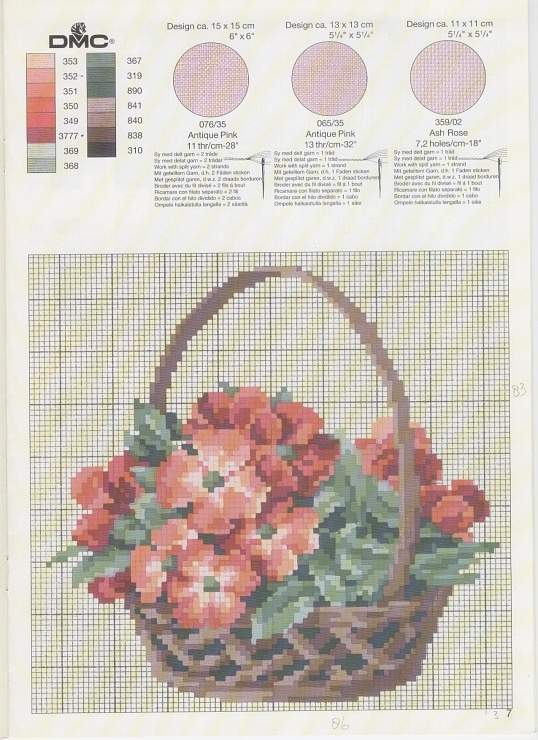 lots of other nostalgic floral charts really lovely pieces