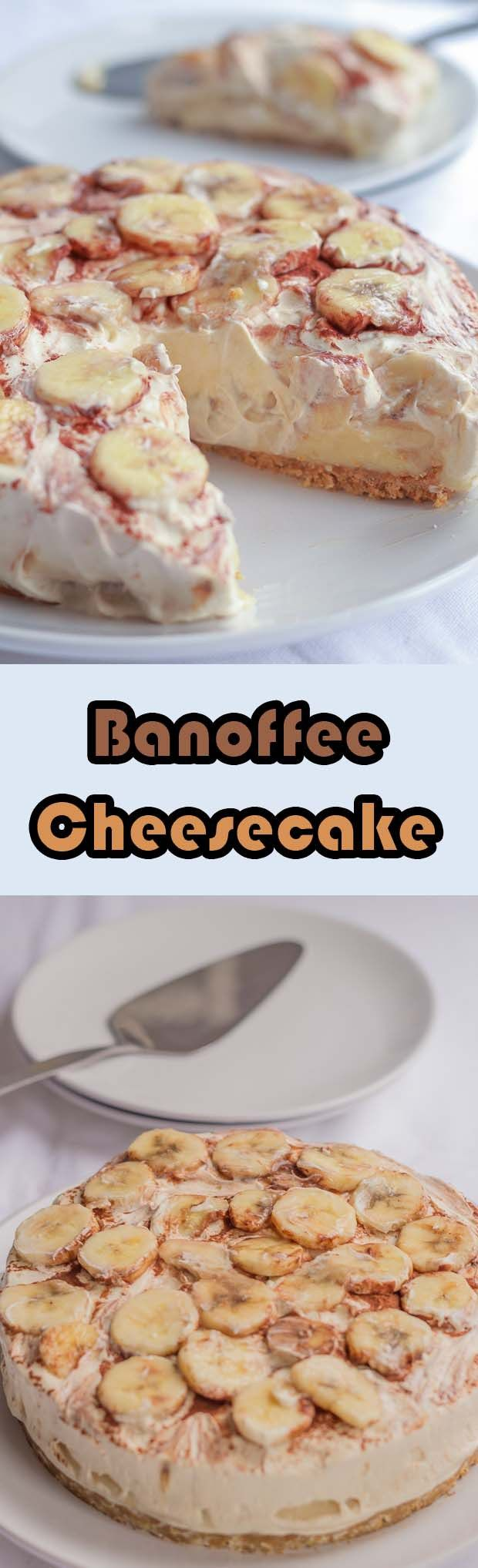 A lighter, but still as delicious, version of the classic indulgent banoffee pie made into a cheesecake.