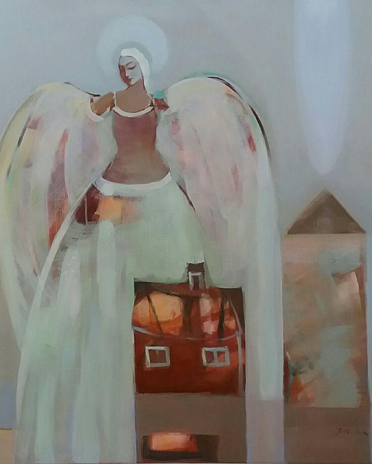 Joanna Golon  Acrylic on canvas  80x90