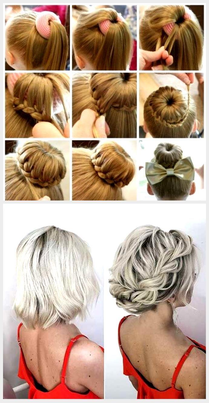 10 schnelle Frisuren für mittlere und lange Haare für jeden Tag
