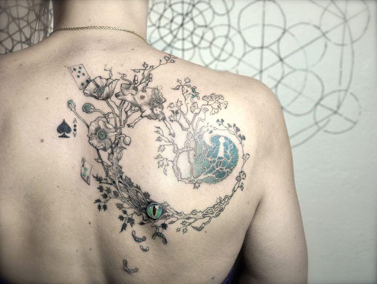 Les 25 meilleures id es concernant tatouage du pays des merveilles sur pinterest alice au pays - Tatouage alice au pays des merveilles ...