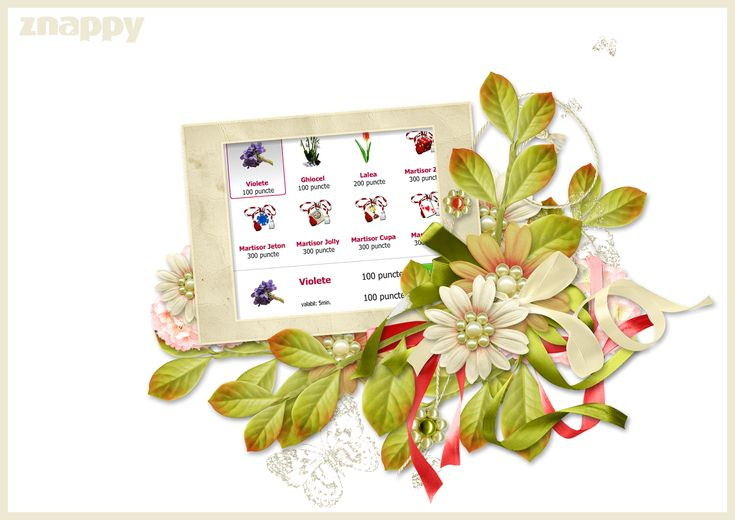 🌺🌺 The surprises of 1 March continue on Znappy and we have prepared a series of gifts specific to Martisor holiday. Come on www.doizece.ro and enrich your profile! 🌺🌺  http://www.doizece.ro/ #ZnappyGames #Martisor #March #Flowers #Spring
