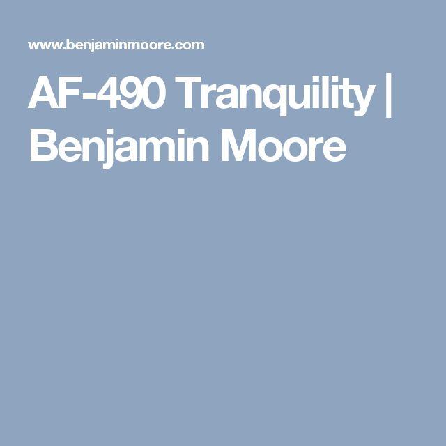 AF-490 Tranquility | Benjamin Moore