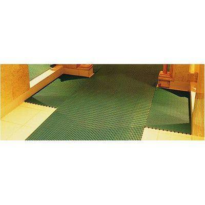 Mats Inc. World's Best Barefoot Anti-Slip Mat Size: 2' x 6', Color: Forest Green