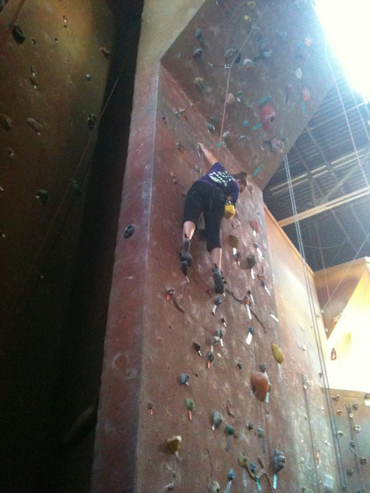 Something I love doing more than anything but something that, after a broken wrist and badly sprained ankle, I'm more scared than ever to try.