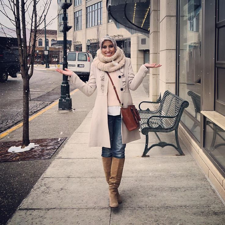 「Me: Look Ahmed it's snowing! Ahmed: NOBODY CARES HURRY UP I'M FREEZING #typical」 Haute Hijab waysify
