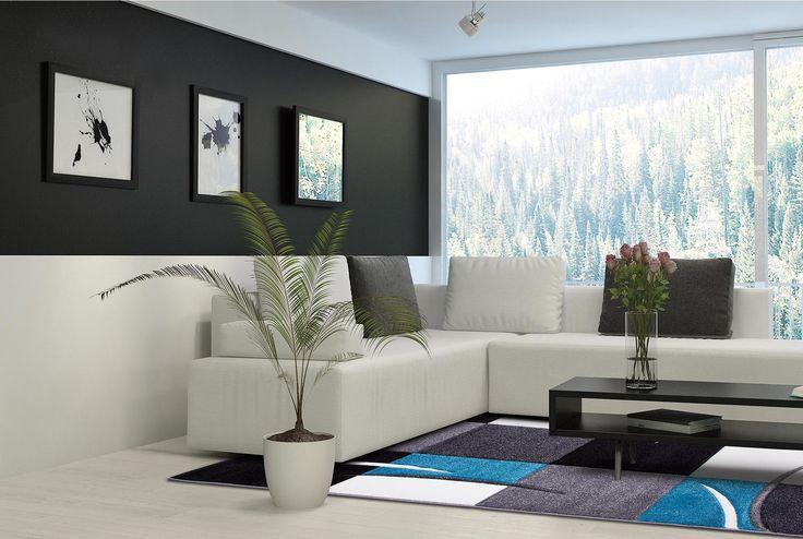 Waau..Na šupu som sa zaľúbila do tohto koberca :3 http://www.tulipocarpet.com/sk/koberce-s-modernym-vzorom/moderno-blue-mix-665930