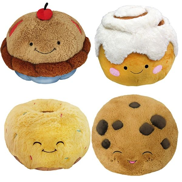 Squishable Comfort Food Pillows: The two things that give you comfort, food and pillows, combined into one!
