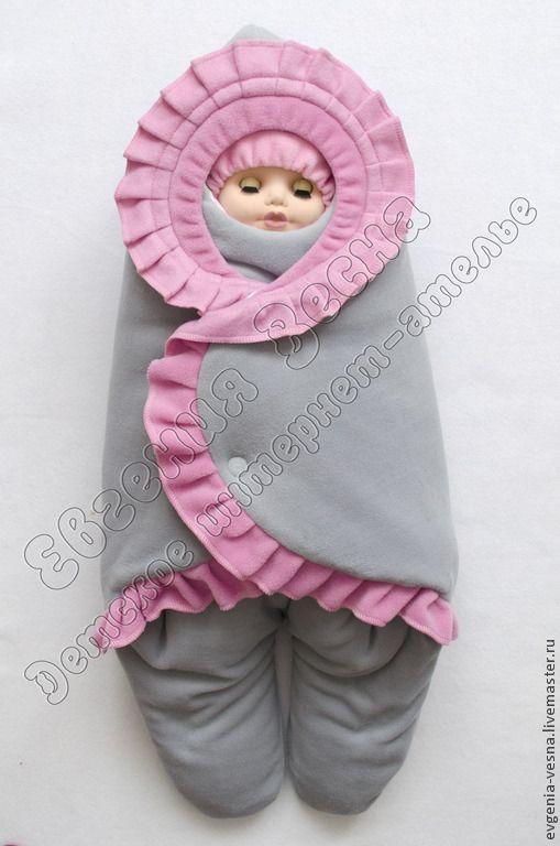 Купить Конверт-кокон для автокресла - конверт, для новорожденного, на выписку, для прогулок, кокон, конверт-кокон
