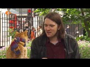 James Bowen und sein Kater Bob - YouTube