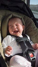 Cómo escoger la mejor silla de auto para bebé