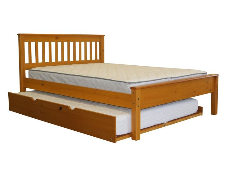 Best Mission Full Slat Bed With Full Trundle Bed Slats 640 x 480