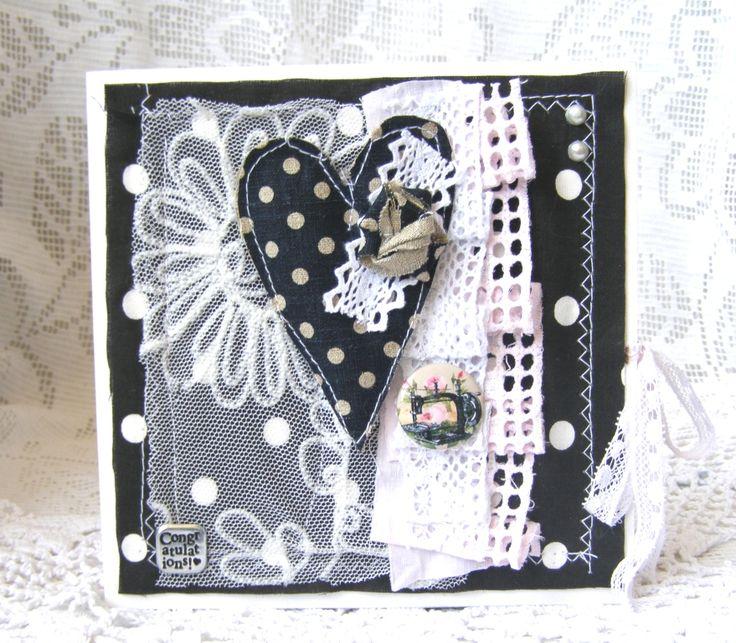 Текстильные открытки, открытки вербным воскресеньем