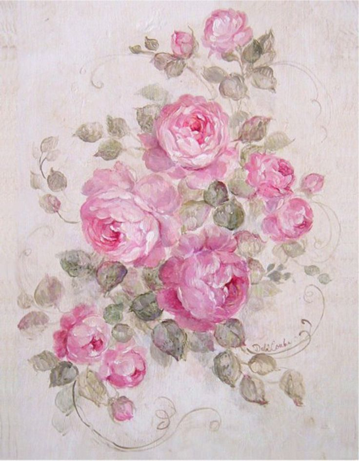 Rose Serenade - FREE USA SHIPPING - Debi Coules Romantic Art