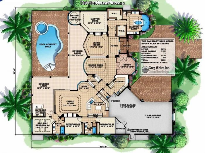 244 best House PlansExteriors images – How To Make A Floor Plan For A House