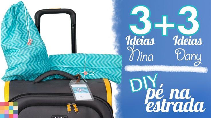 6 DIYs para arrumar a mala e viajar tranquilo  Ft. Dany Martines
