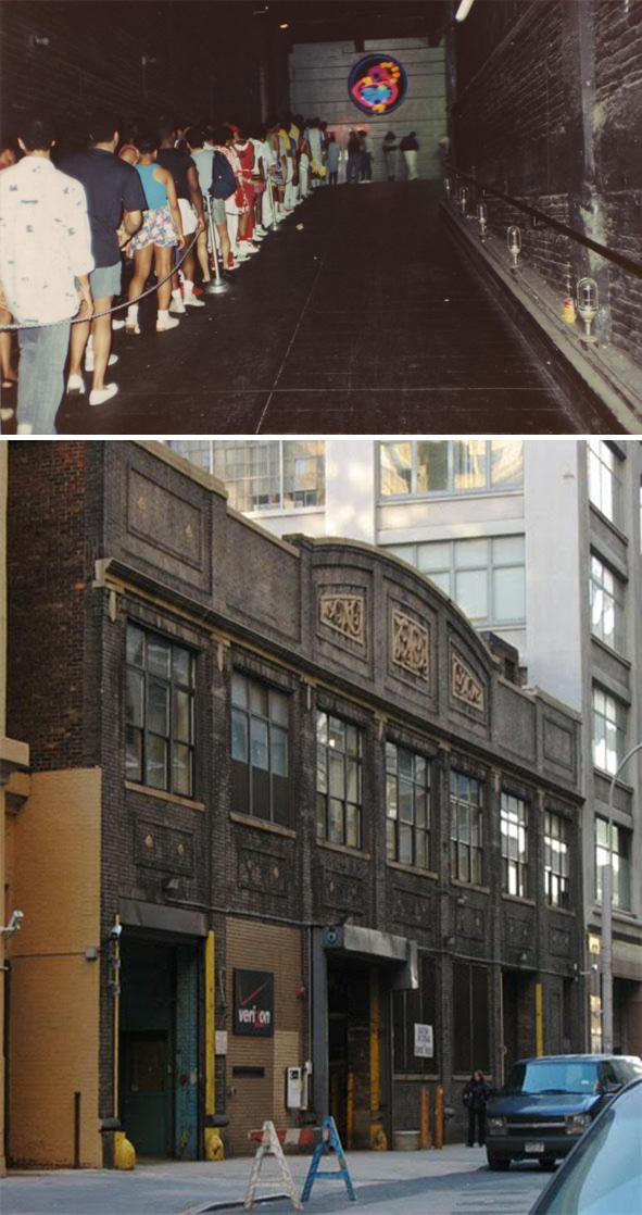 Paradise garage located at 84 king street new york ny for Garage house music