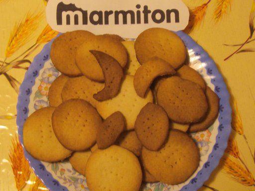 Sablés - Recette de cuisine Marmiton : une recette