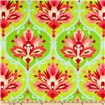 amy butler: Window, Trumpets Flowers, Flowers Pink, Home Decor Fabric