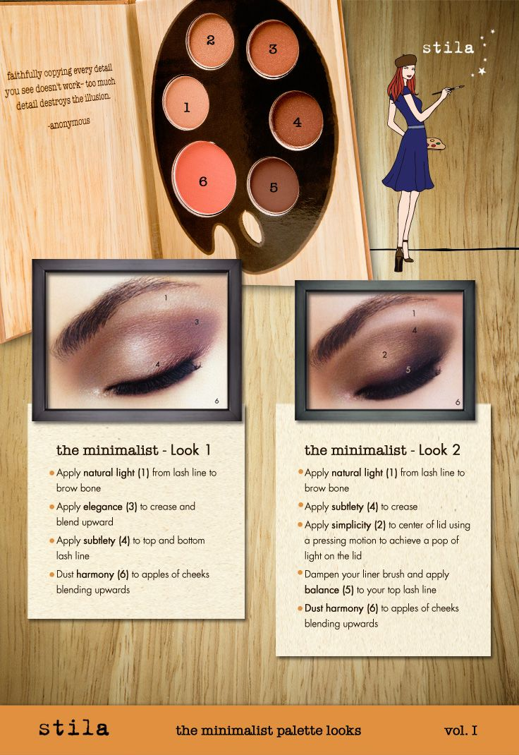 Simple and natural, get the Minimalist eye look from stila cosmetics new Artistry collection. #ulta #ultabeauty