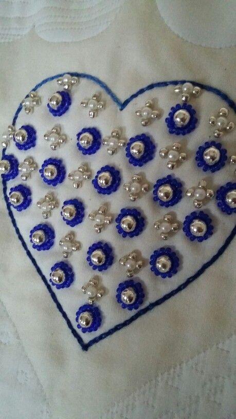 abbastanza Oltre 25 fantastiche idee su Ricamo con perline su Pinterest  WK17