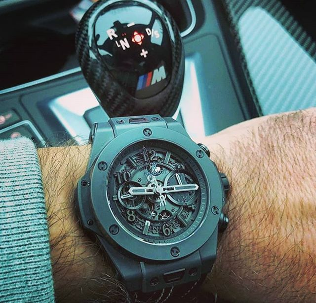"""All black 😎 . . . #fashionblogger #fashionblog #luxury #luxurylife #luxurycars #watches #watch #amazing #beautiful  #patekphilippe #patek #dope #like #officialwatches #watches #rolex #hublot #hot #sexy #money #follow #webstagram #colorful #style #swag #black"" by @mans_nat_hoot."