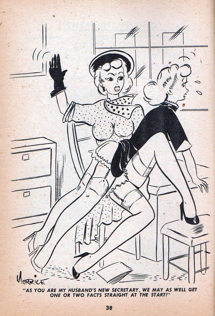 The Secretary Erotic Comic