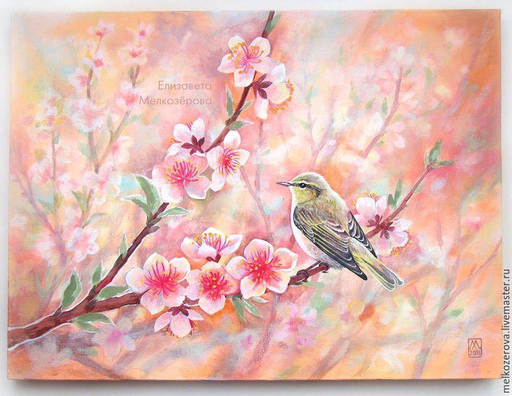 """Картина """"Цветение персика"""""""