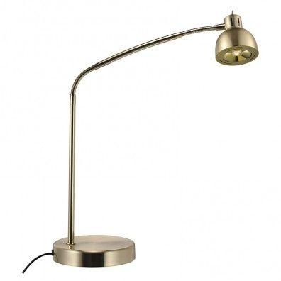 Lampekonsulenten Duett LED Schreibtischleuchte Brass