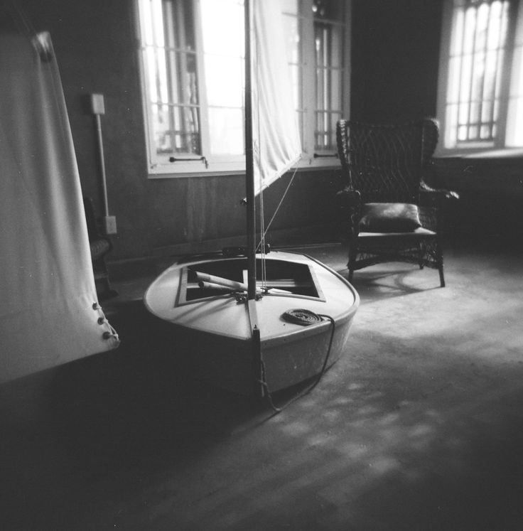 Holga 120 film black and white photo sitting room off the master bedroom at the