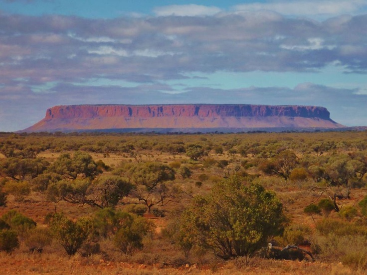 Mt Conner - Northern Territory - Australia ~ at a glance, reminds me of Square Butte in MT