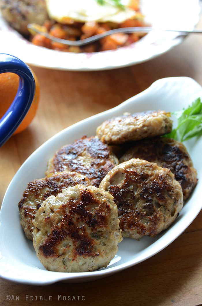 Paleo Chicken Apple Sausage Breakfast All Gluten, Grain, Dairy products, Refined Sugars, Preservatices & Soy Free