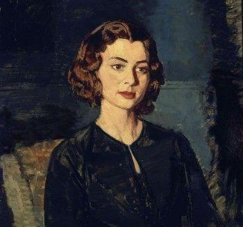 Ignacio Zuloaga - Retrato de Mujer