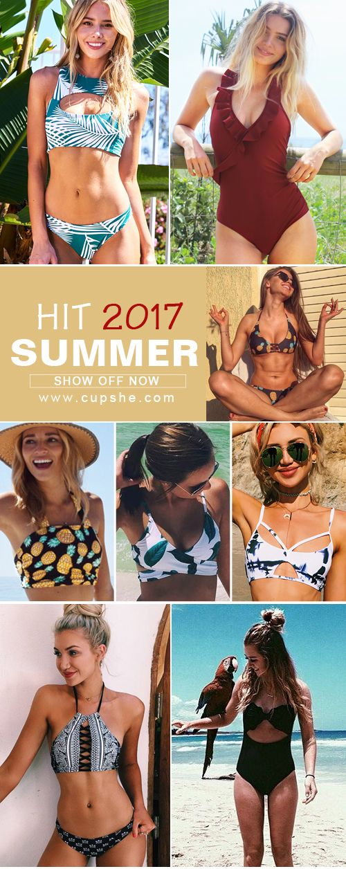 Hey girl~ Let's Hit 2017 Summer! You will want to pull it out of your closet to next beach trip. Take it now!