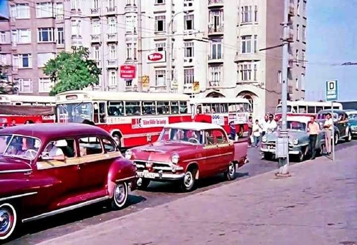 Taksim, 1970'ler #istanlook #nostalji #birzamanlar