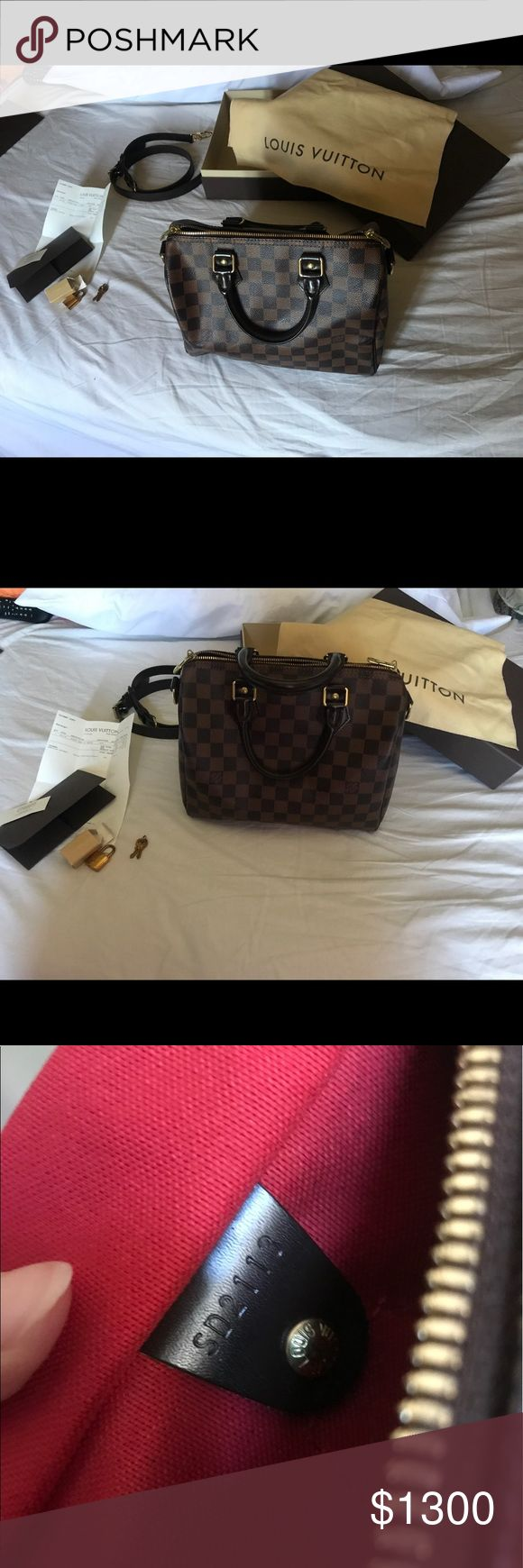 Authentic Louis Vuitton bandouliere 25 Great conditions, includes box, dust bag, receipt and key. 1000% auth Louis Vuitton Bags Shoulder Bags