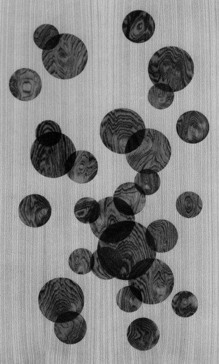 INTARSIA (WOOD VENEER PATTERN), 1960s U2026circles