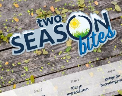 "Make your own recipe @Behance-project: ""Two Season Bites"" https://www.behance.net/gallery/32663969/Two-Season-Bites"