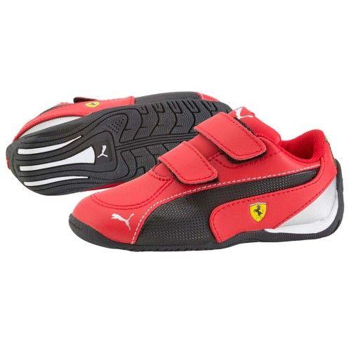 Puma Drift Cat 5 Scuderia Ferrari Baby Boy #ferrari #ferraristore #shoes #footwear #puma #red #rossoferrari #cavallinorampante #prancinghorse #kids #boy