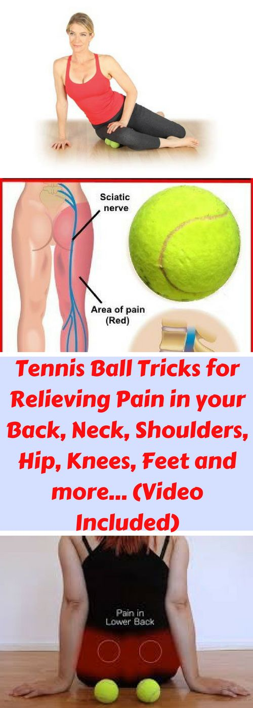 The modern way of life has led to many health problems like pain in the neck, back, shoulders, etc. Today we are going to present you some exercises and you will only need one tennis ball. Repeat these exercises as often as you can and eliminate your pain.
