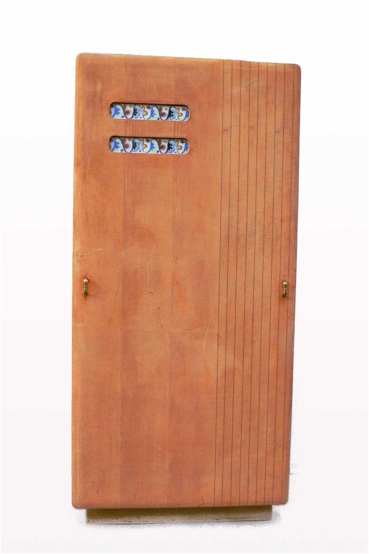 Italian manufacture. Closet. Wood, brass. Manifattura italiana. 60s di Box900 su Etsy