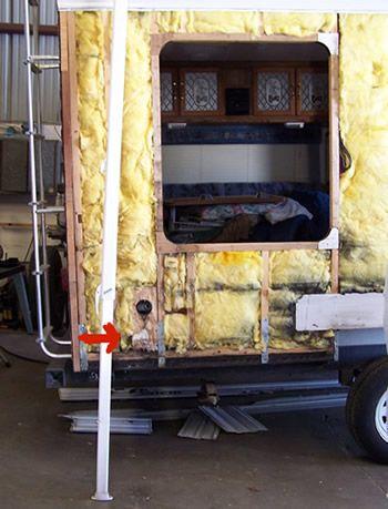 Rv Dry Rot Travel Trailer 5th Wheel Renovation