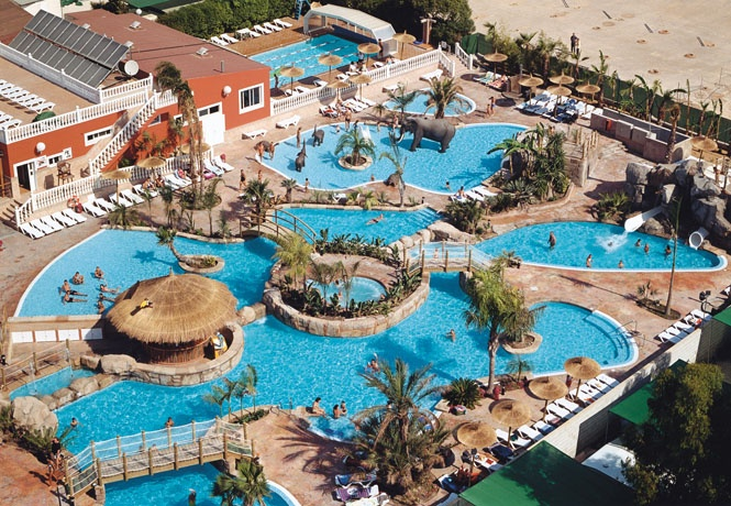 Camping La Marina Alicante... Where I get to work out for 3 months.