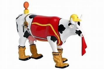 Image result for Cow Parade Figurines