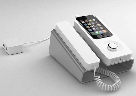 "The odd something that makes me say ""I want one"".: Geek Blood, Cell Phones, Iphone Gadgets, Iphone Dock, Phones Dock, Desks Iphone, Mobiles Phones, Kee Desks, Desks Phones"