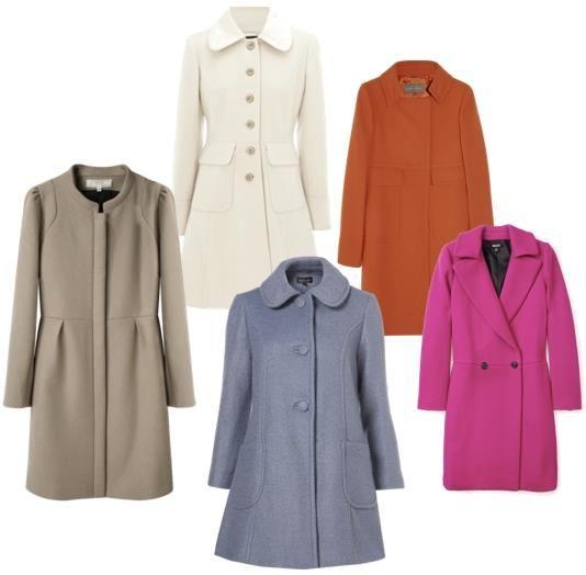 Пальто для невысокой полной женщины