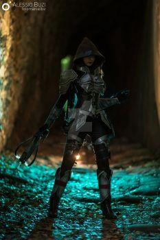 Demon Hunter cosplay Diablo 3 by Chiara-LittleOwlie