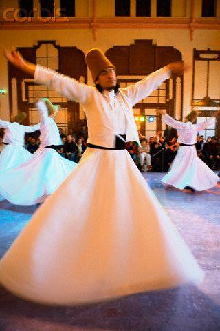Sufi Dervish Dancers - Turkey