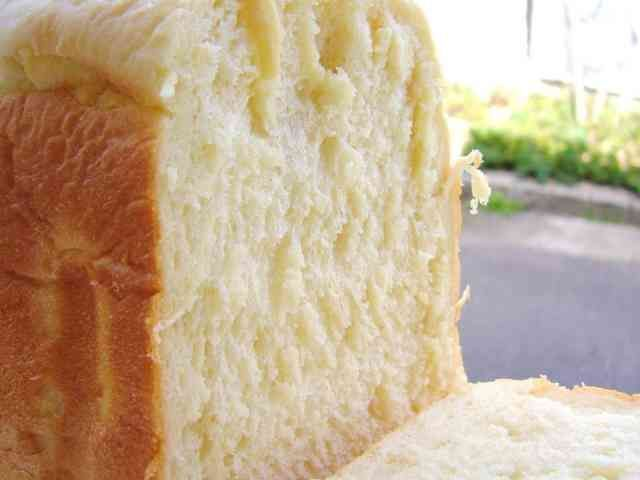 ふんわり幸せ♡♥♡HBで豆腐の食パンの画像